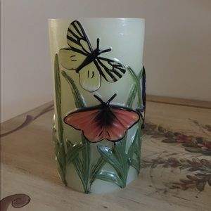 Flameless 3-Dimensional Butterfly Candle